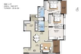 sterling ascentia 3bhk flats apartments for sale in bellandur