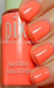 let them have polish summer pixi polishes