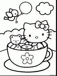 kitty coloring pages kitty printable coloring drawings