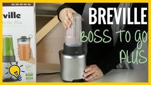 review l breville boss to go plus blender youtube