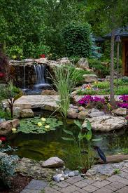 Backyard Ponds And Fountains 593 Best Ponds And Water Features Images On Pinterest Backyard