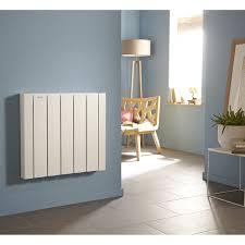 inertie seche ou fluide chambre radiateur électrique à inertie fluide acova mohair lcd 1500 w