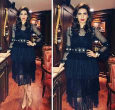 karishma tanna fails to make an impression in this black lace