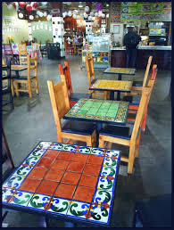 Mexican Chairs Furniture Ideas Mexican Patio Furniture With Orange Cushion Patio