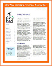 4 newsletter template free newsletter template