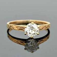 late art deco platinum diamond engagement ring 0 54ct u2013 a brandt