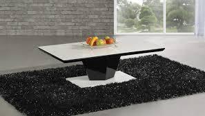 Black Gloss Glass Coffee Table Black Glass Coffee Table The Decoras Jchansdesigns
