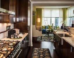 rug in kitchen with hardwood floor hardwood floors and
