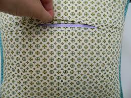 s o t a k handmade installing zipper closure in a pillow cover