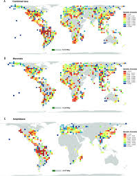 Genetic Map Of Europe by An Anthropocene Map Of Genetic Diversity Science