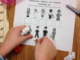 fun friday all about community helpers sol train learning