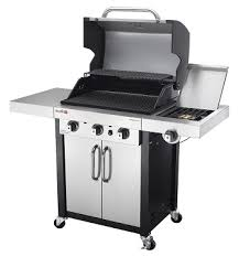 char broil commercial stainless black 3 burner gas grill