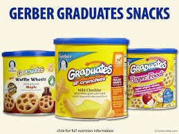 graduates snacks big food pushes unhealthy snack foods at babies