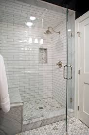 Walk In Shower With Bench Seat Shower Bathroom Benches Seating Wonderful Shower Pan Redi Bench
