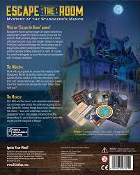 Room Escape Games Free Download For Pc Amazon Com Thinkfun Escape The Room Stargazer U0027s Manor Toys U0026 Games