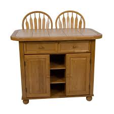 kitchen islands oak sunset trading tile top kitchen island honey light oak hayneedle