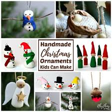 handmade ornaments christmas ornaments kids can make rhythms of play