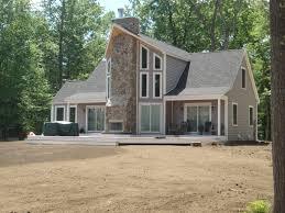 modern prefab home farmhouse barn house exterior organic