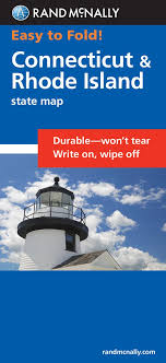 Rhode Island Travel Assistant images Easy to fold connecticut rhode island easyfinder maps rand jpg