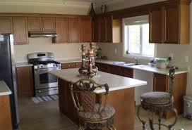 cheap kitchen cabinets and countertops kitchen l shaped wood kitchen cabinet in chocolate with white