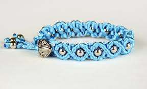 bracelet macrame patterns images Diy easy wave bracelet jpg