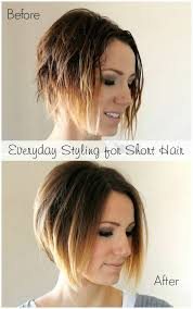 the wedge haircut instructions everyday styling tutorial for a short angled bob easy tips and