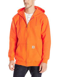 amazon com carhartt men u0027s midweight zip front hooded sweatshirt
