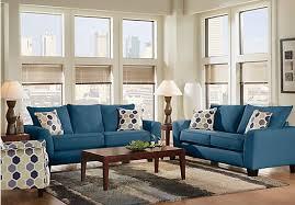 dark blue living room furniture royal blue living room sets