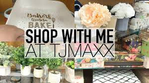 spring home decor shop with me at tjmaxx february 2017 youtube