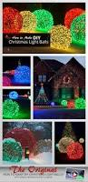 How To Make Sweet Decorations How To Make Christmas Light Balls Outdoor Christmas Decorations