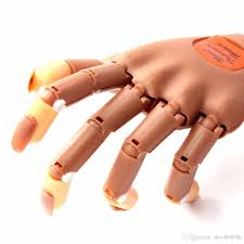 dhl free 23 9 1 hand 100 tips fake hands hand model for nails