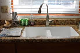 Moen Kitchen Faucet Brushed Nickel Simple Kitchen Design With Brazilian Brown Granite Laminate
