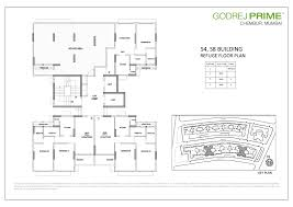 floor plan key floor plans godrej prime