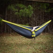lime u0026 charcoal double travel hammock castaway travel hammocks