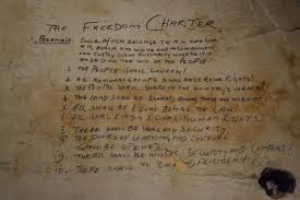 wall pretoria file the freedom charter wrote on the wall palace of justice s