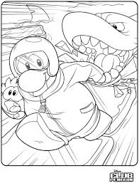 coloring pages of club penguin of puffles free coloring pages on art coloring pages
