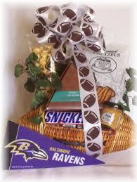 theme gifts baltimore maryland theme football gift baskets ravens pennant