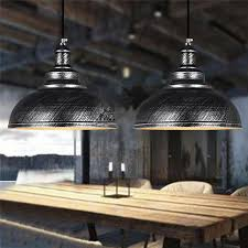 bronze and silver light fixtures vintage chandelier industrial dining room light restaurant