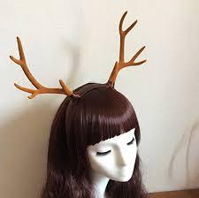 deer headband christmas big antlers hair band headband