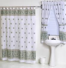 Shower Curtains With Matching Accessories Bathroom Window Curtains With Matching Shower Curtain Http