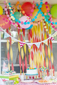 Easter Garlands Decorations by Yellow Crepe Paper Streamer Party Decorations 195ft Total 3 Pack