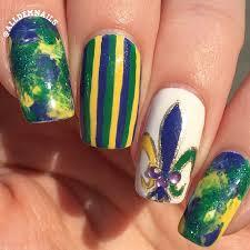 mardi gras nail mardi gras nails all dem nails