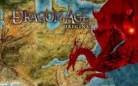 Dragon Age World Map by Dragon Age Origins By Aelonath On Deviantart