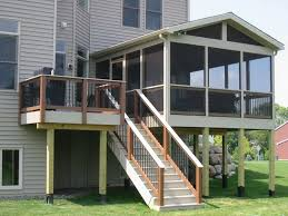 Covered Porch Plans Miscellaneous Screened In Porch Ideas Interior Decoration And