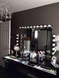black vanity set with lights lighting makeup vanity art decor homes vintage black makeup vanity