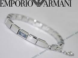 armani bracelet silver images Woodnet rakuten global market amp woman business for emporio jpg