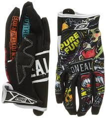 oneal motocross gloves amazon com o u0027neal jump gloves with crank graphic black