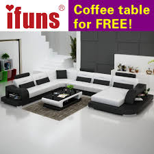 Genuine Leather Living Room Sets Compare Prices On White Leather Living Room Set Online Shopping
