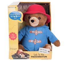 buy paddington bear talk paddington soft toy argos uk