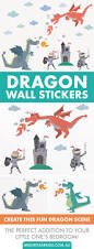 best 20 kid friendly wall stickers ideas on pinterest spiderman little ones will love breathing fire with these cute and friendly dragon wall stickers check